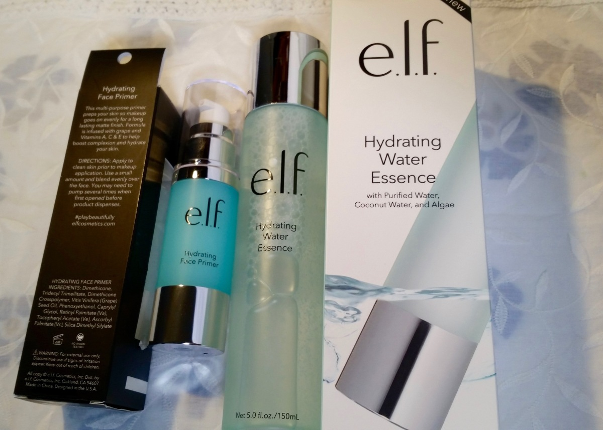 Budget Skincare: Elf Hydrating Water Essence