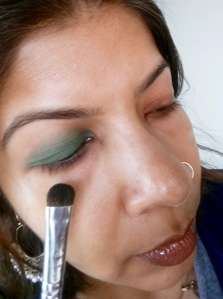 Green with Brush