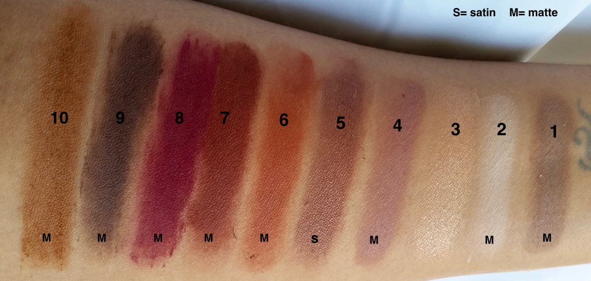 Rose Swatches
