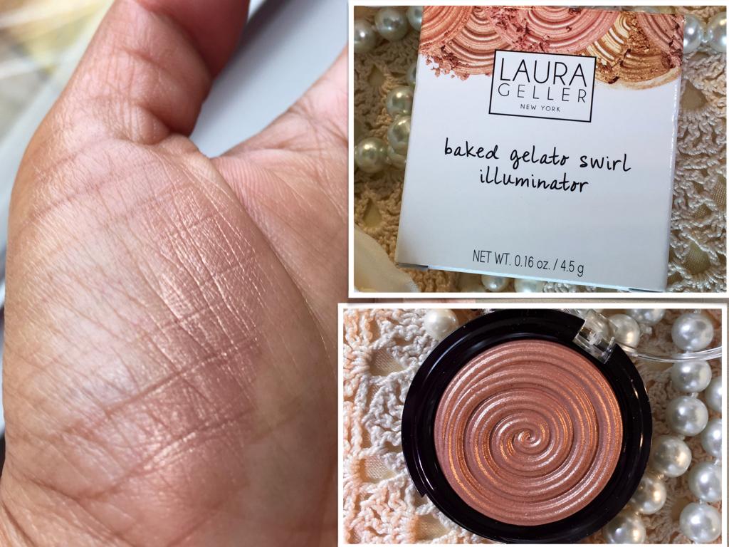Brown Girl Highlight : Laura Geller Baked Gelato SwirlIlluminator