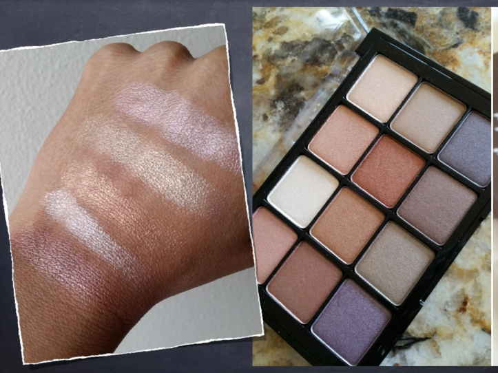 Eyeshadow Viseart Paris Nudes