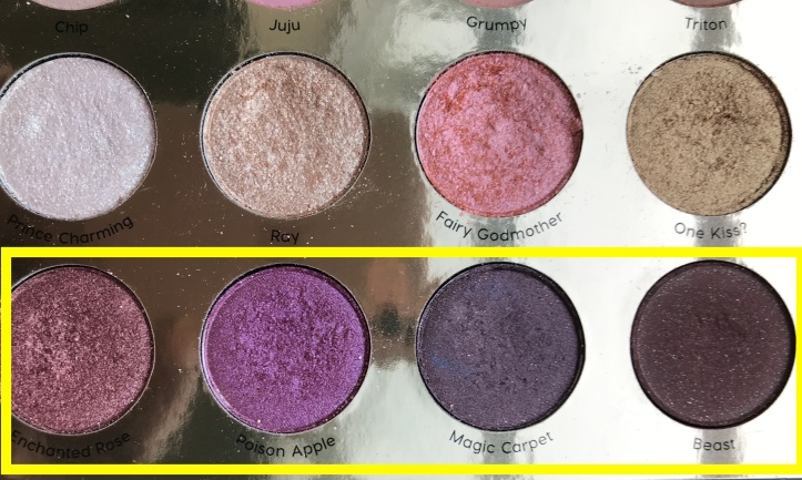 ColorPop 4 shades